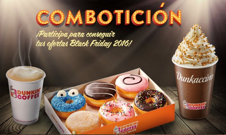 promociones Dunkin Black Friday 2016