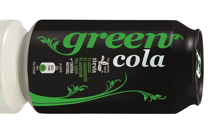 Lata Green Cola_330ml