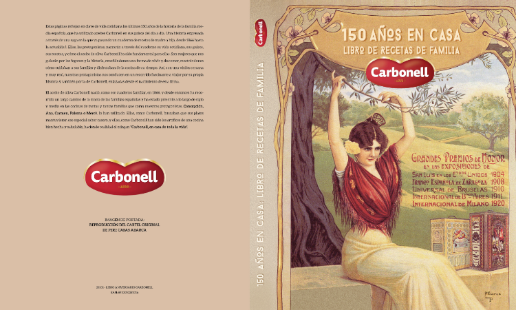 Libro Carbonell 150 años