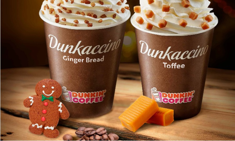 Dunkin presenta sus dos nuevos sabores: jengibre y toffee