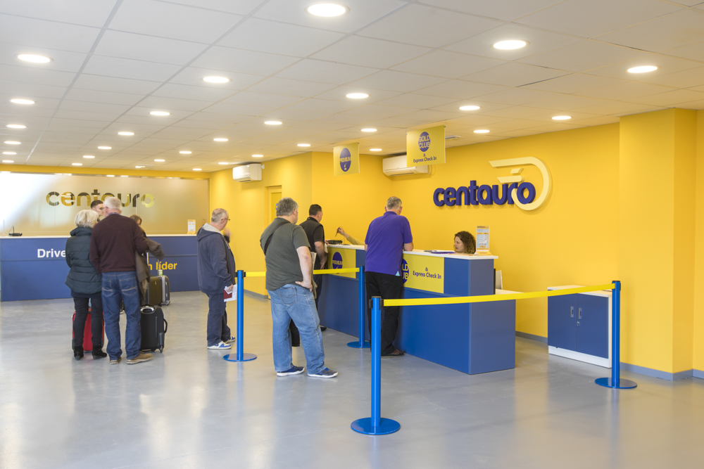 Nueva oficina de Centauro Rent a Car en Madrid